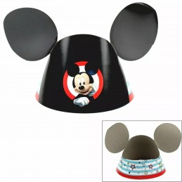 Mickey Mouse Party Hats (Pack of 8)