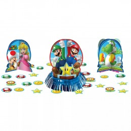 Super Mario Table Decorating Kit (3 Piece)