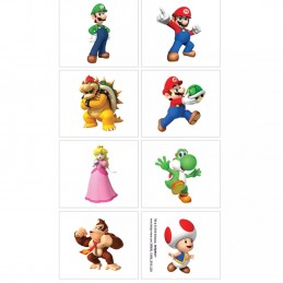 Super Mario Tattoos (Set of 8)