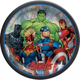 Avengers Unite Large Plates (Pack of 8)
