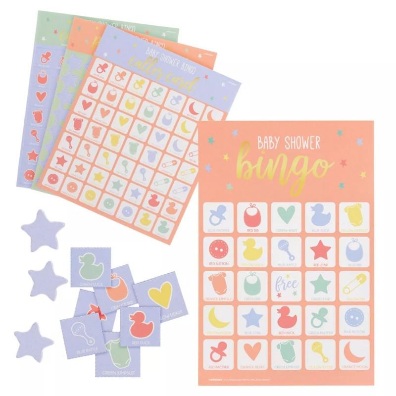 Baby Shower Bingo Game (Set of 25)