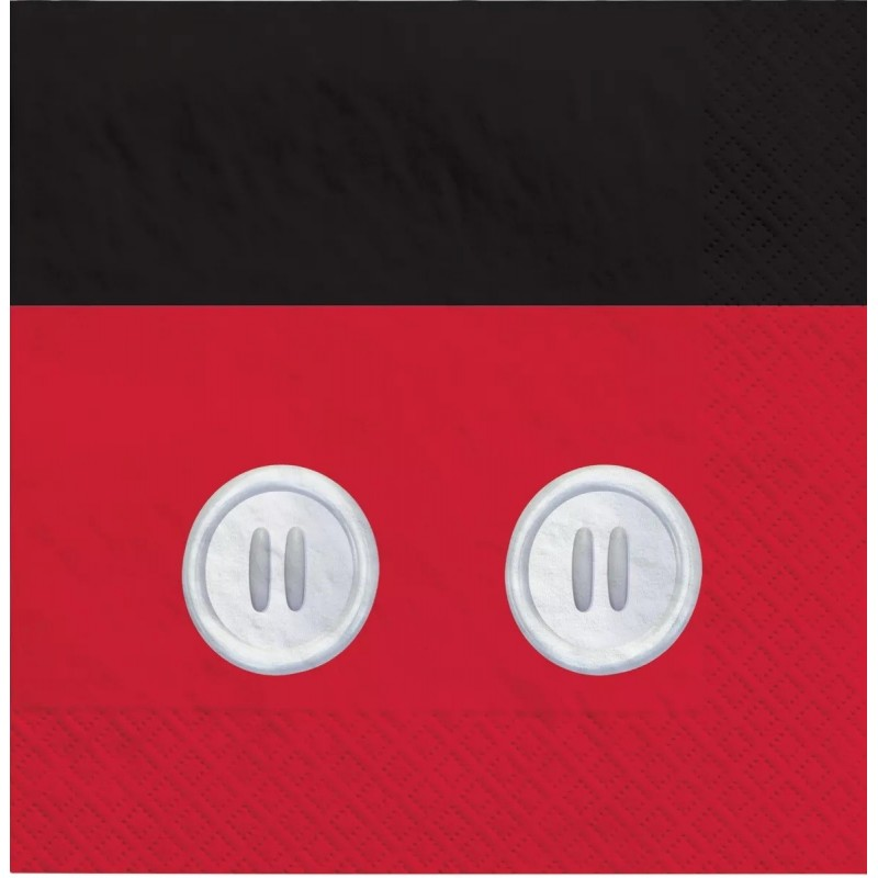 Mickey Mouse Large Napkins (Pack of 16)