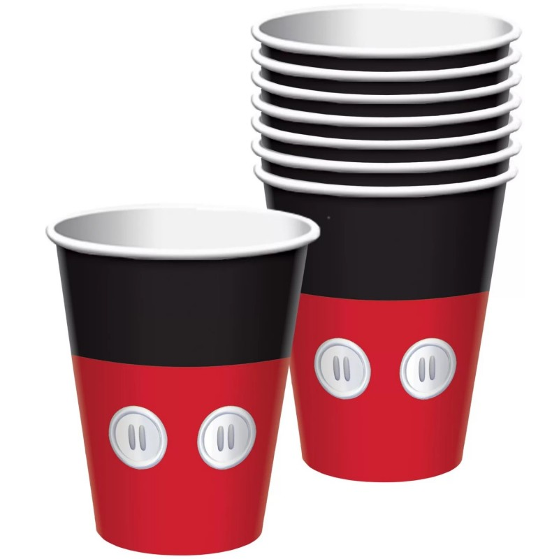 Mickey Mouse Paper Cups (Pack of 8)