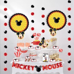 Mickey Mouse Candy Buffet Table Decorating Kit (23 Pieces)