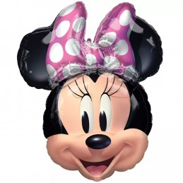 Shaped Minnie Mouse Foil Balloon