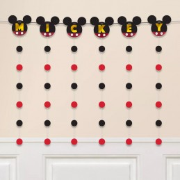 Mickey Mouse String Garland Banner
