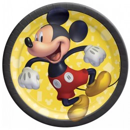 Mickey Mouse Small Plates (Pack of 8)