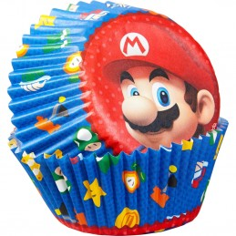 Wilton Super Mario Baking Cups (Pack of 50)
