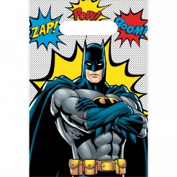 Batman Party Bags (Pack of 8)