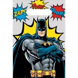 Batman Party Bags (Pack of 8) | Batman