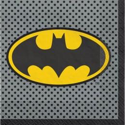 Heroes Unite Batman Large Napkins (Pack of 16)