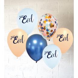 Pastel Eid Balloons Set (Pack of 8)