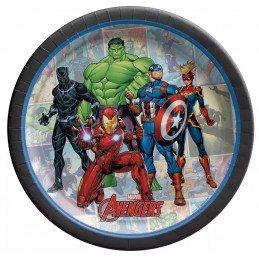 Avengers Unite Small Plates (Pack of 8) | Avengers