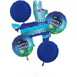 Battle Royal Fortnite Balloon Bouquet (5 Piece)