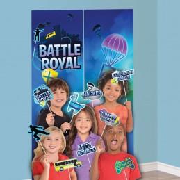 Battle Royal Fortnite Scene Setter & Photo Props