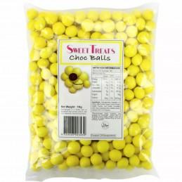 Yellow Chocolate Balls (1kg)