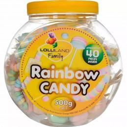 Rainbow Candy Jar