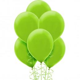 Kiwi Green Latex Balloons (Pack of 20)