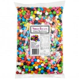 1kg Rainbow Chocolate Buttons
