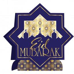 3D Gold Foil Eid Mubarak Centerpiece