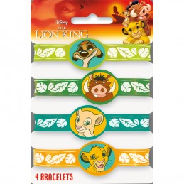 The Lion King Rubber Wristbands (Pack of 4)