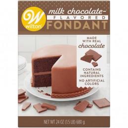 Wilton Milk Chocolate Flavoured Fondant 680g