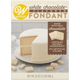 Wilton White Chocolate Flavoured Fondant 680g