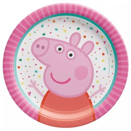 Peppa Pig Small Paper Plates (Pack of 8)