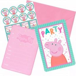 Peppa Pig Party Invitations Kit (Set of 8)
