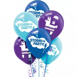 Battle Royal Balloons (Pack of 6)