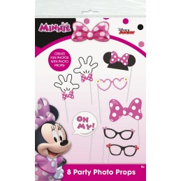 Minnie Mouse Photo Booth Props (Set of 8) | Minnie Mouse