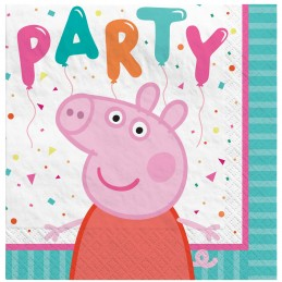 Peppa Pig Small Napkins (Pack of 16)