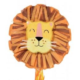 Get Wild Pull String Lion Pinata
