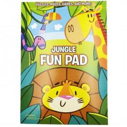 Jungle Fun Activity Pads (Set of 8)