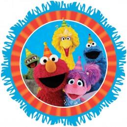 Pull String Sesame Street Pinata | Sesame Street Party Supplies