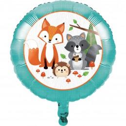 Woodland Animals Foil Balloon