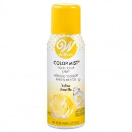 Wilton Colour Mist - Yellow - 42g | Edible Food Spray Party Supplies