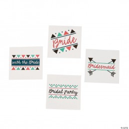 Bridal Shower Tattoos (Set of 12)   Hens Night Party Supplies