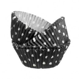 Wilton Black Polka Dot...