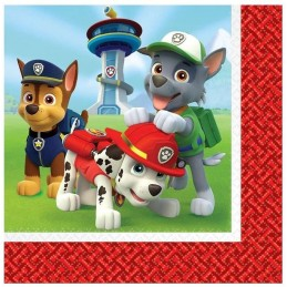 Paw Patrol Large Napkins (Pack of 16)