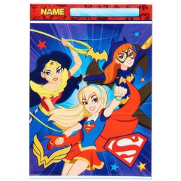 DC Super Hero Girls Lolly/Treat Bags (Pack of 8)