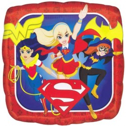 DC Super Hero Girls Foil Balloon