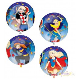 DC Super Hero Girls Orbz Balloon
