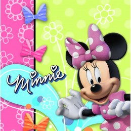 Minnie Mouse Bowtique Large Napkins (Pack of 16)