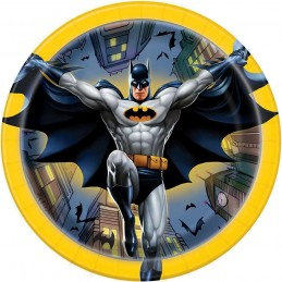 Batman Small Plates (Pack of 8)