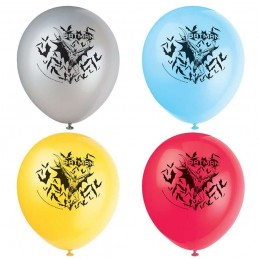 Batman Latex Balloons (Pack of 8)