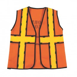 Construction Costume Vest Kids Size