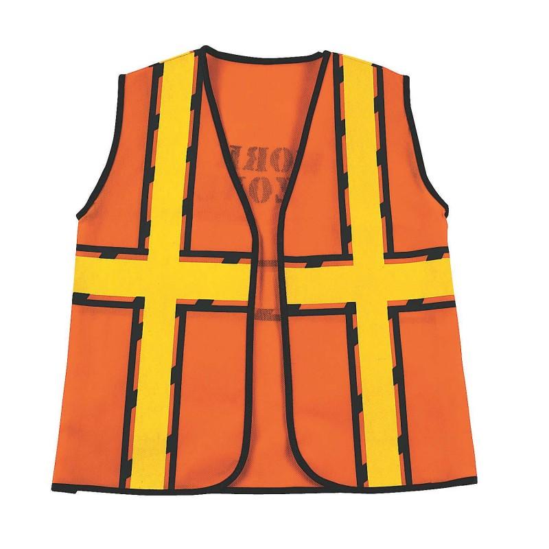 Construction Costume Vest Kids Size