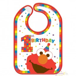 Elmo 1st Birthday Bib