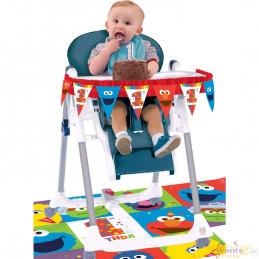 Elmo 1st Birthday High Chair Decorating Kit